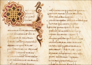 Visigothic script vs. Caroline minuscule. Context (I)