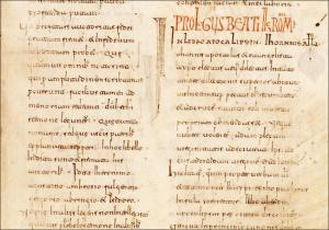 Visigothic script vs. Caroline minuscule. Context (II)