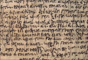 Punctuation in Visigothic script manuscripts