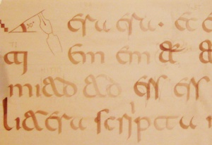 Calligraphy: Learning to write in Visigothic script (II)