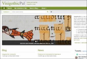 Tutorial sobre el manejo de la plataforma VisigothicPal: terminología